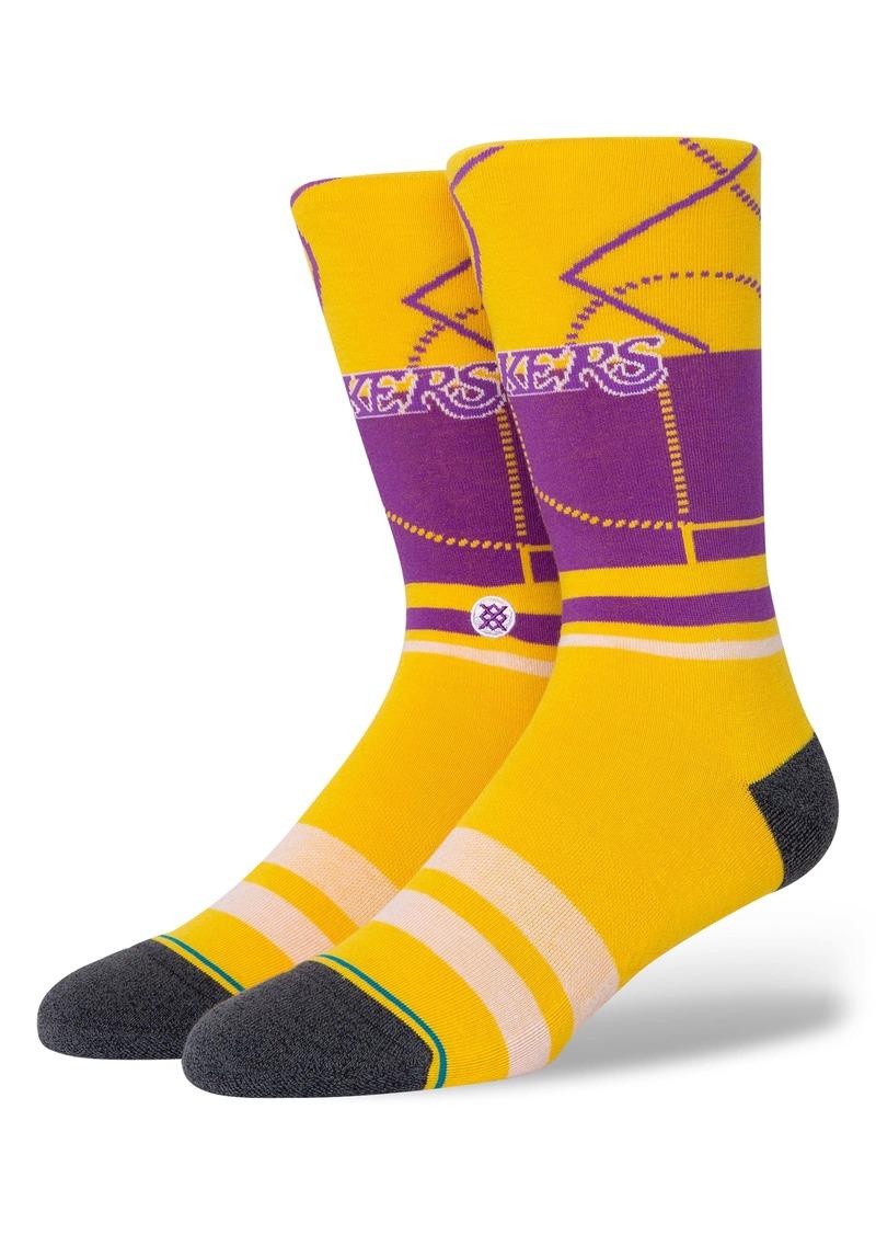 Stance Los Angeles Lakers Crew Socks