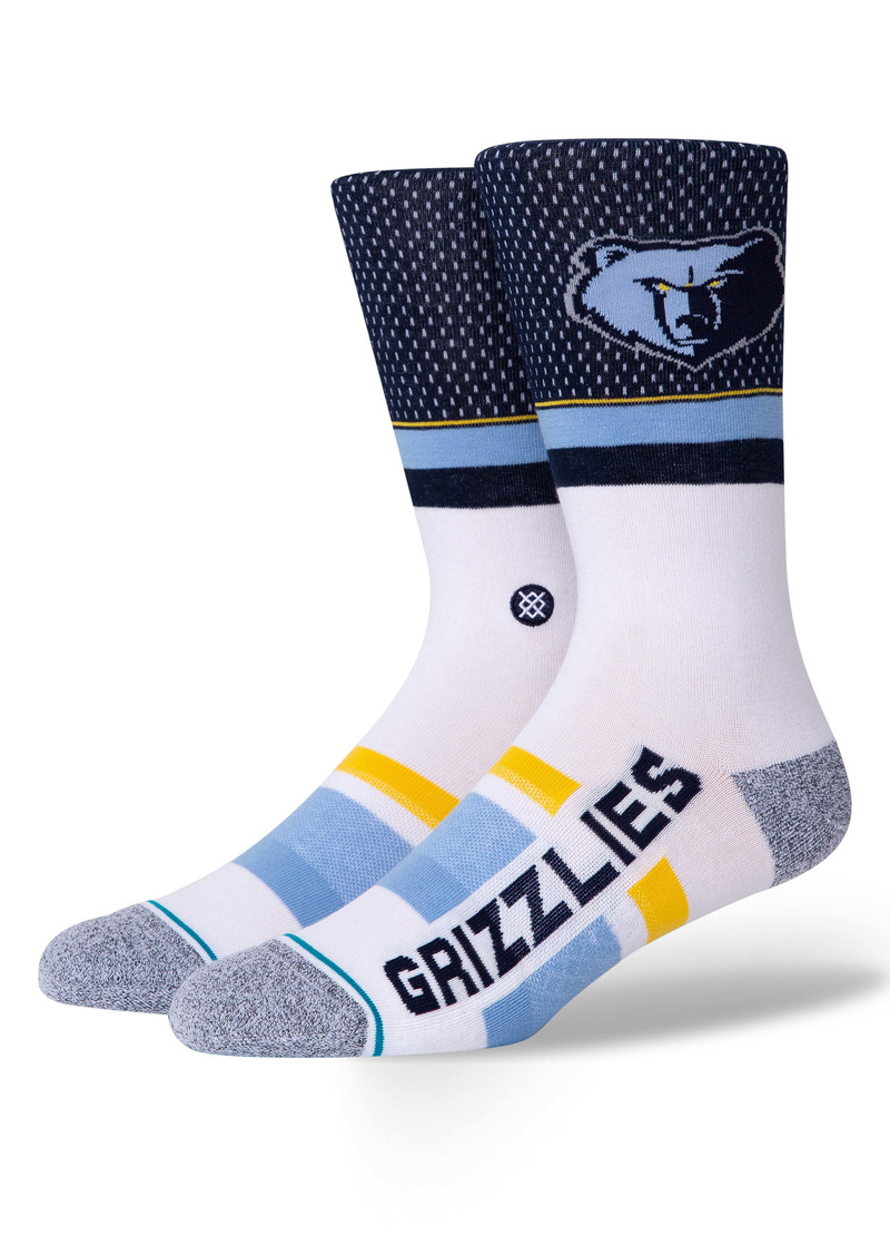 Stance Memphis Grizzlies Crew Socks
