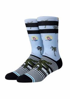 Stance Men's Crew Sock Aloha Monkey ST