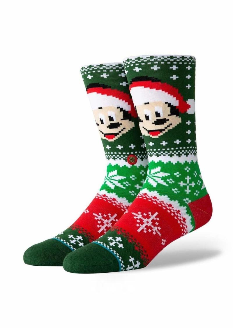 Stance Men's Disney Christmas Crew Sock  LARGE