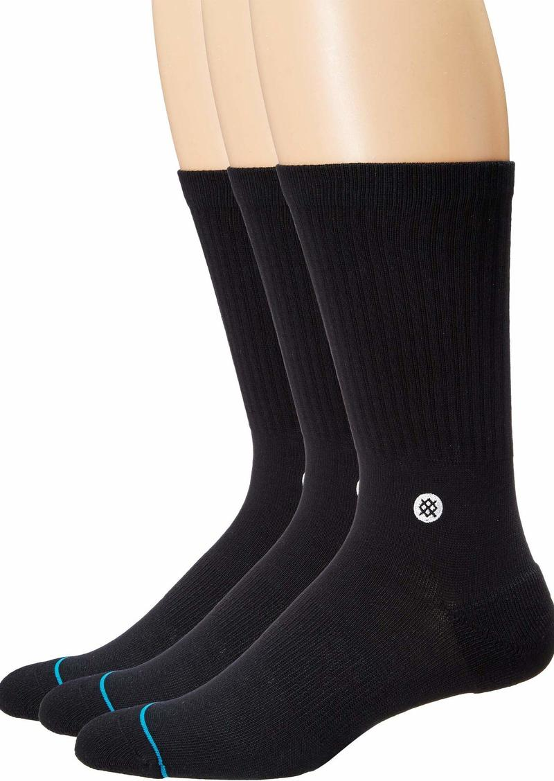 Stance Men's ICON 3 Pack Crew black LARGE