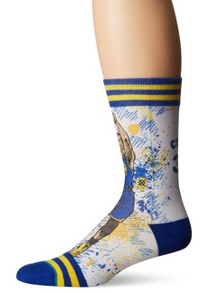 Stance Men's Tf Curry Crew Sock Blue L