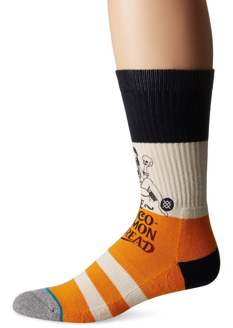 Stance en's Valve Pin-up Striped Arch Support Classic Crew Sock