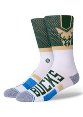 Stance Milwaukee Bucks Crew Socks