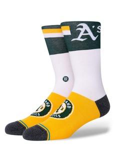 Stance Oakland A's Crew Socks