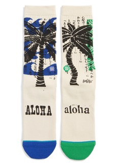 Stance Oblow Palm Crew Socks