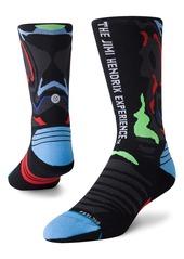 Stance Patterned Performance Crew Socks