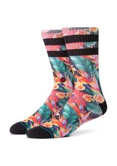 Stance Pau Tropical-Print Socks