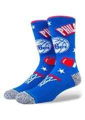 Stance Philadelphia 76ers Crew Socks