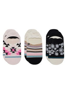 Stance Ryley Assorted 3-Pack No-Show Socks
