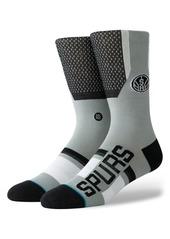 Stance San Antonio Spurs Crew Socks