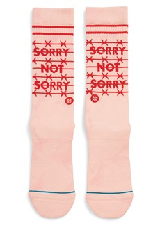 Stance Sorry Not Sorry Socks