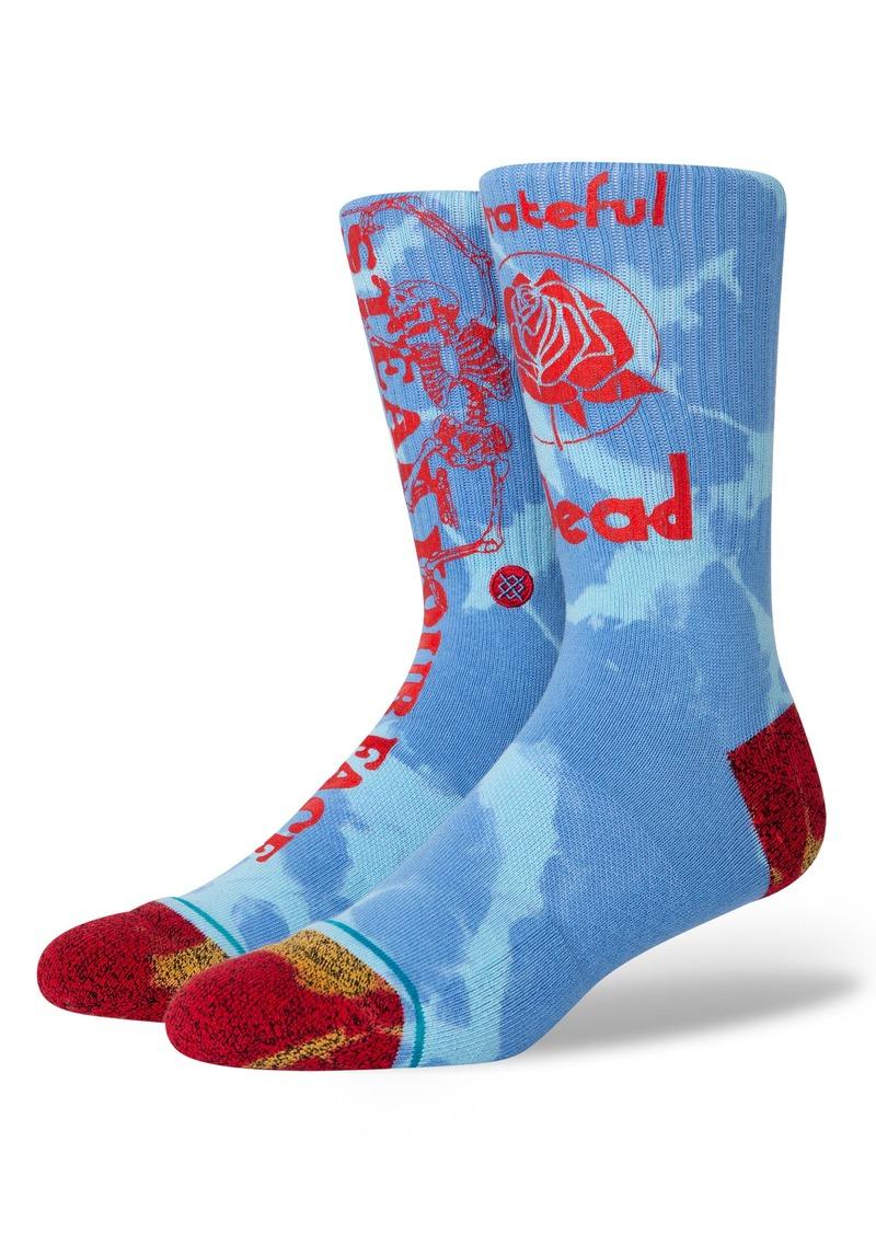 Stance 'Sunshine Daydream' Tie Dye Crew Socks