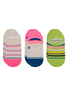 Stance Treaty Assorted 3-Pack No-Show Socks