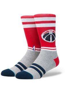 Stance Washington Wizards City Gym Crew Socks