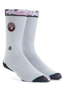Stance With Love Paradise Patch Crew Socks