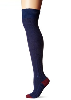 Stance Women's Fine Line Striped Arch Support Over The Knee Sock