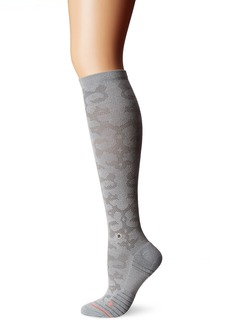 Stance Women's La Sagrada Premium Antimicrobial Arch Support Athletic Over The Calf Sock
