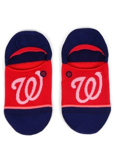 Stance Women's Washington Nationals Invisible No Show Socks