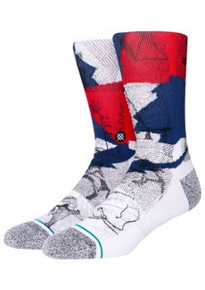 Stance Wintercount Halftone Cotton Blend Socks