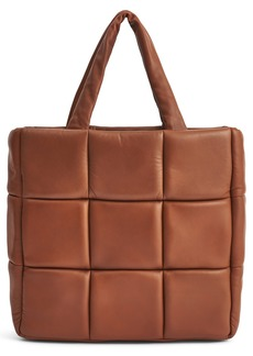 Stand Studio Assante Leather Tote - Brown