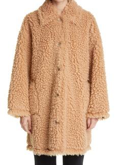 Women's Stand Studio Jacey Oversize Teddy Faux Fur Coat