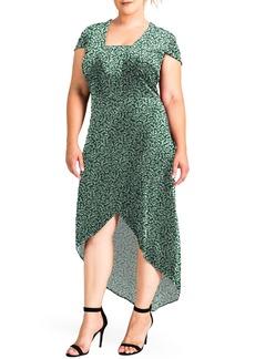 Plus Size Women's Standards & Practices Luna Velvet Dress