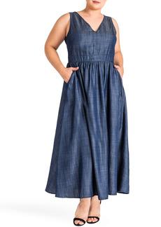 Plus Size Women's Standards & Practices Nimah Maxi Dress