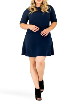 Plus Size Women's Standards & Practices Tina Flounce Dress