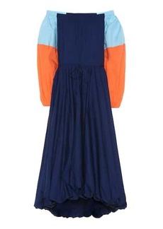 STAUD Fleur off-the-shoulder dress