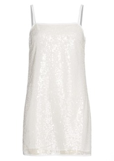 STAUD Mini Sequin Dress