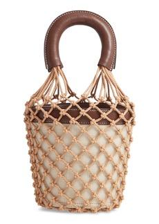 STAUD Moreau Caged Bucket Bag