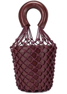 STAUD Moreau net bucket bag