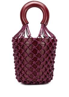 STAUD net-layered bucket bag
