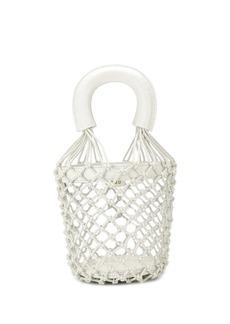 STAUD net-styled bucket bag