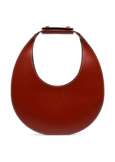 STAUD Red Moon leather shoulder bag