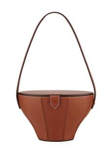 Staud Alice Leather Top Handle Bag