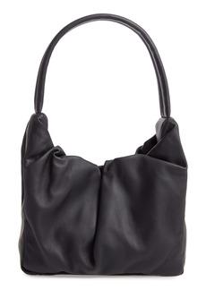 STAUD Felix Leather Top Handle Bag