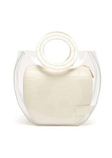 Staud Frida leather & PVC tote bag