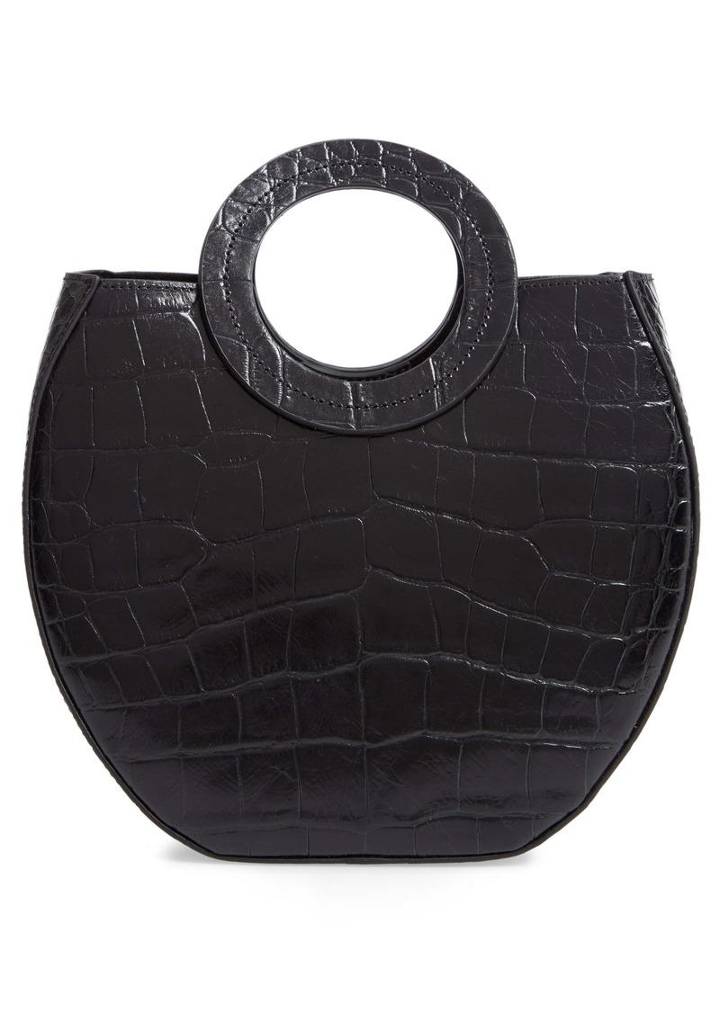 STAUD Frida Leather Handbag