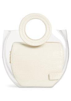 STAUD Frida Transparent Handbag
