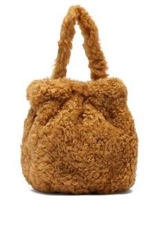 Staud Grace shearling bag