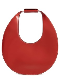 STAUD Large Moon Leather Bag