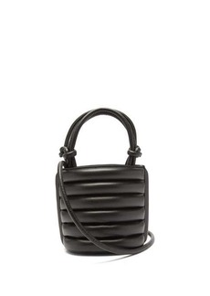 Staud Louie drawstring-top quilted-leather bag