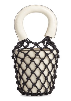 STAUD Mini Moreau Cage Bucket Bag