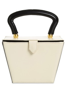 STAUD Mini Sadie Colorblock Leather Bucket Bag