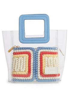 STAUD Mini Shirley Telephone Transparent Handbag