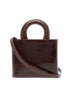 Staud Nic crocodile-effect leather bag
