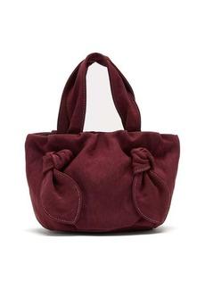 Staud Ronnie knot-handle canvas bag