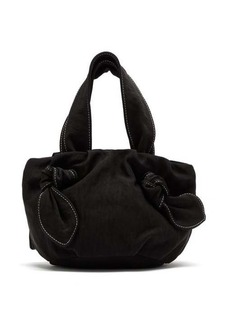 Staud Ronnie knotted canvas bag